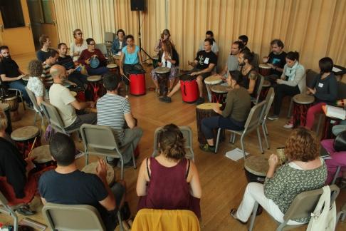 Drum circle facilitation 5